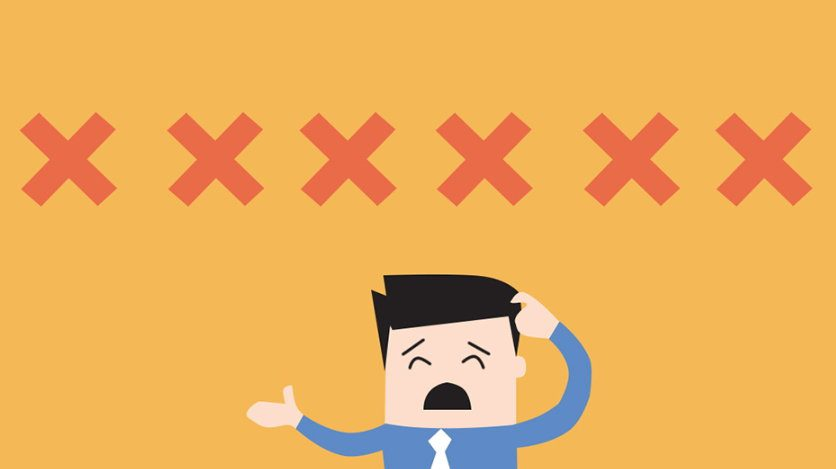 Os 6 erros que podem ser evitados quando se utiliza a tecnologia