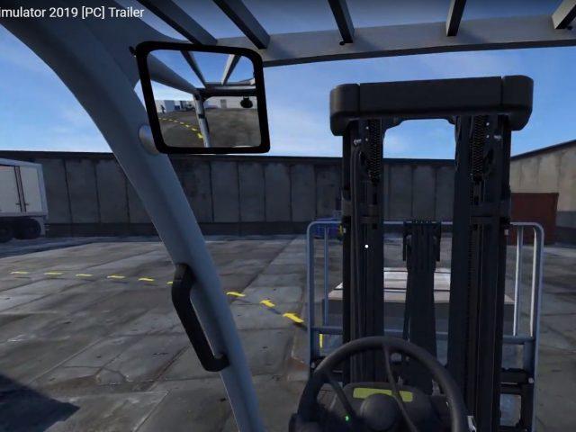 Simulador de empilhadeiras Forklift é revelado para o Switch e chega na próxima semana